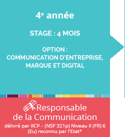 ecole communication digitale bac4