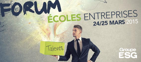 Forum recrutement Ecoles Entreprises Groupe ESG