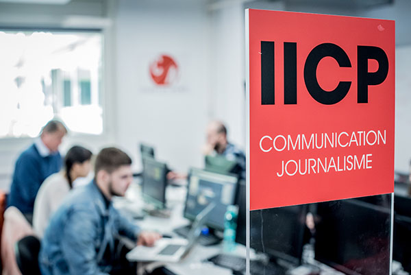 IICP Hubschool Communication Journalisme au salon SAGE