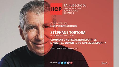 IICP Conférence avec Stéphane Tortora