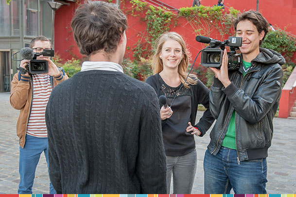 journaliste reporter images