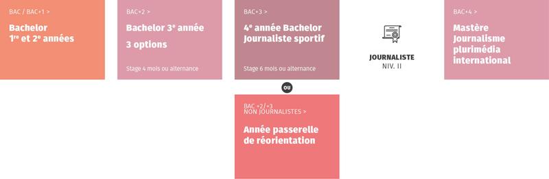 Le programme de la formation en journalisme sportif