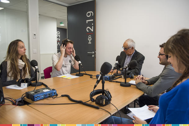 studio radio journalisme